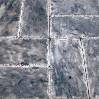 Dalle de sol en pierre bleue