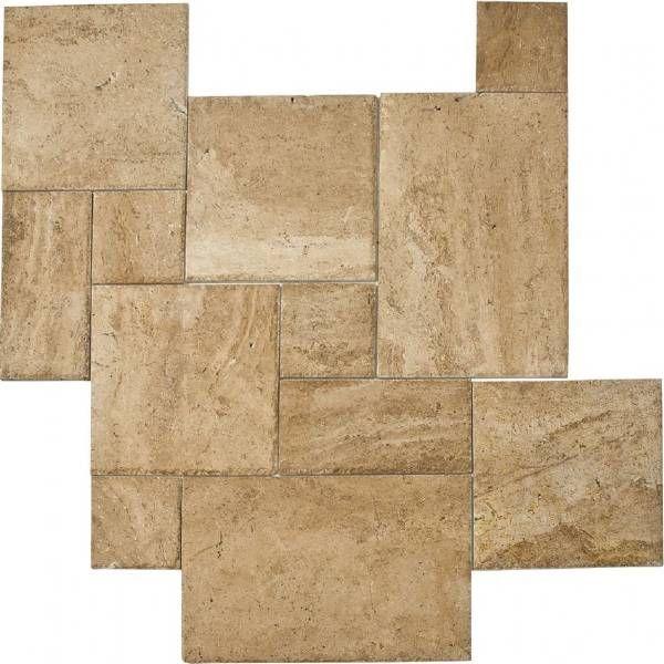 carrelage travertin opus romain 4 Formats antique