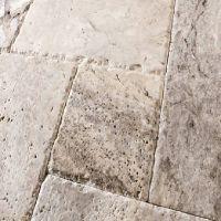 carrelage pierre calcaire travertin rustique mixte