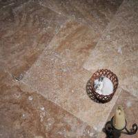 carrelage marbre de travertin beige house classique