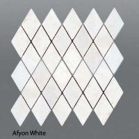 Plaquette de marbre blanc  30,5 x 30,5 x 1 cm