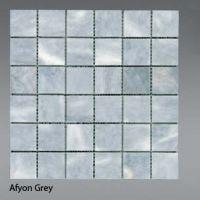 Plaquette de marbre gri  5 x 5 cm