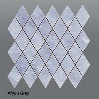 Plaquette de marbre gris  30,5 x 30,5 x 1 cm