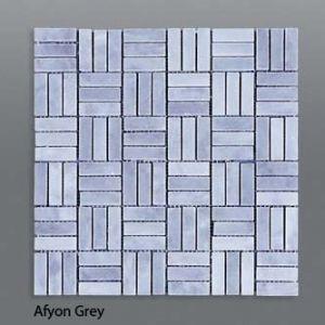 Plaquette de marbre gris et blanc  1,5x4,5