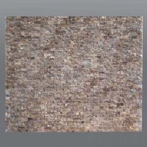 Plaquette de marbre narcisse  1,5 x 30 cm