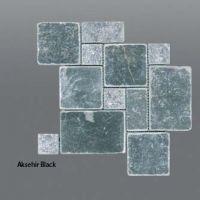 Plaquette de marbre noir  Mini set