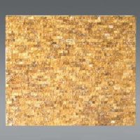 Plaquette de Travertin jaune  1,5 x 30 cm