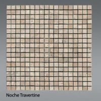 Plaquette de travertin noce  1,5 x 1,5 cm