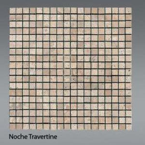 Plaquette de travertin noce  1,5 x 1,5 cm
