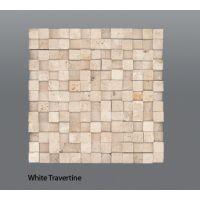 Plaquette de white kubik  30,5 x 30,5 x 1 cm