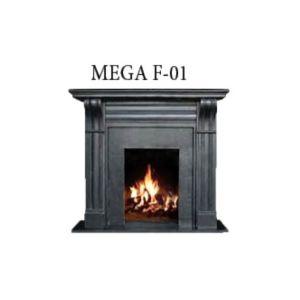 Habillage cheminée en Gümü? Mermer MG 1058